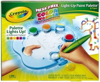 Crayola Color Wonder Light Up Paint Palette