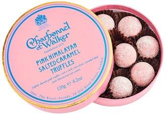 Charbonnel et Walker Pink Himalayan Salted Caramel Chocolate Truffles 120g