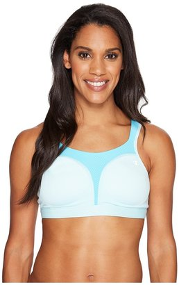 Champion - Spot Comfort Full-Support Sports Bra Women's Bra $48 thestylecure.com