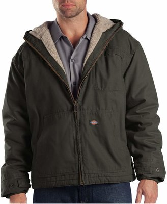 Dickies Men's Lined Hooded Jacket