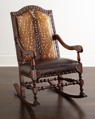Old Hickory Tannery Jefferson Rocking Chair