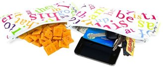 Itzy Ritzy 2-pk. Mini Reusable Snack Bags - Word Soup