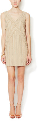 Rachel Zoe Rita Silk Ruffle Shift Dress