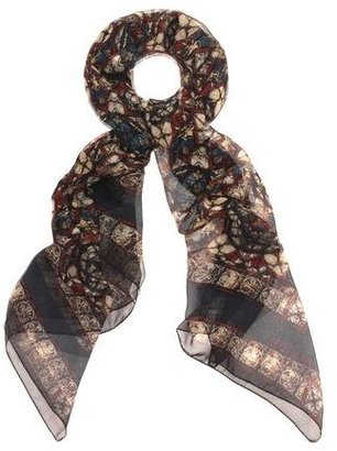 Alexander McQueen Stained Glass Silk Scarf