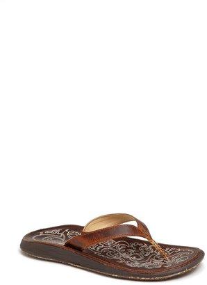 OluKai 'Paniolo' Thong Sandal