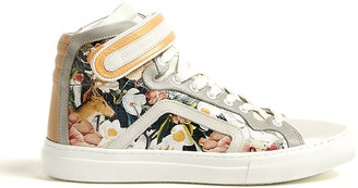 Mother of Pearl Decoy Flower Trainers