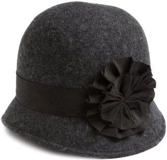 San Diego Hat Company San Diego Hat Women's Wool Felt Cloche