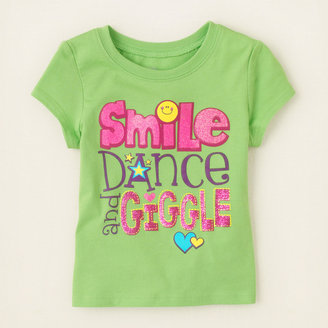 Children's Place Smile giggle graphic tee