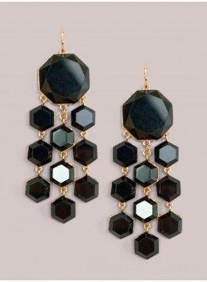 IGIGI Shayla Earrings in Onyx