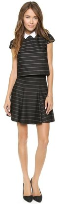 Alice + Olivia Pharl High Waist Fit & Flare Skirt