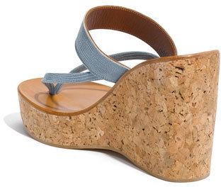 K Jacques St Tropez K.Jacques St. Tropez 'Saturnine' Cork Wedge Sandal