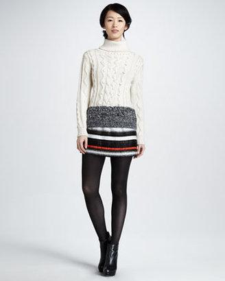 Milly Ribbon Miniskirt