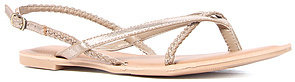 O'Neill The Pipeline Braided Sandal in Champagne