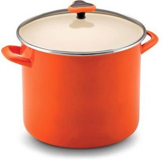 Rachael Ray 12-qt. Enamel on Steel Stockpot, Orange