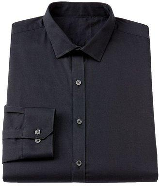 Rock & Republic Rock and republic slim-fit narrow spread-collar stretch dress shirt