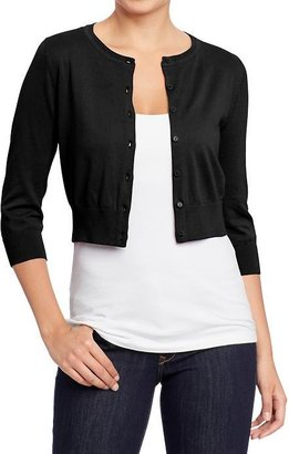Old Navy Women's Cropped Rib-Knit Cardis