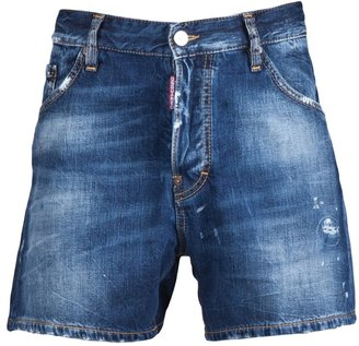 DSquared Dsquared2 Distressed shorts