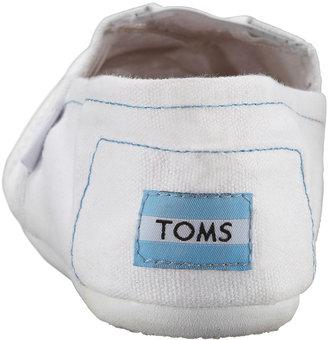 Toms Classic Canvas Slip-On, White