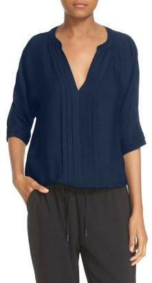 Women's Joie 'Marru' Semi-Sheer Silk Blouse