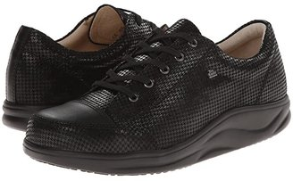 Finn Comfort Ikebukuro (Black Hardy/Nappa) Women's Lace up casual Shoes