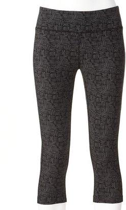 Tek gear geometric capri leggings
