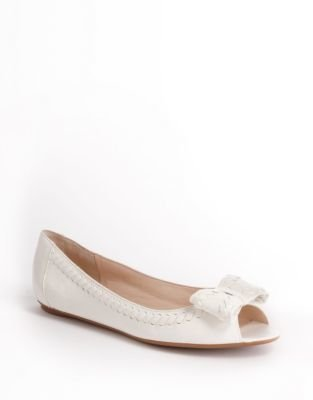 Nine West BONNILYN Open toe Flat with bow