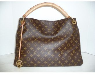 Louis Vuitton excellent (EX Artsy MM Monogram Empreinte Hobo Bag - RARE