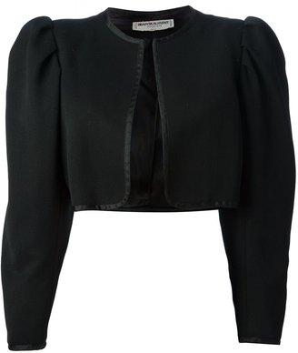 Yves Saint Laurent Pre Owned Cropped Bolero Jacket