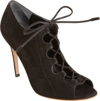 Gianvito Rossi Lace-Up Bootie