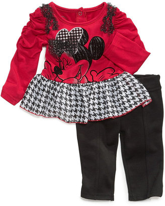 Nannette Baby Girls' 2-Piece Minnie Mouse Set