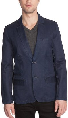 GUESS Denim Seasonal Blazer with Silicone Rinse
