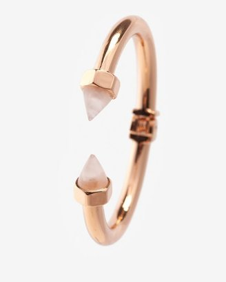 Vita Fede Luciano Cone Bolt Bracelet: Pink Quartz