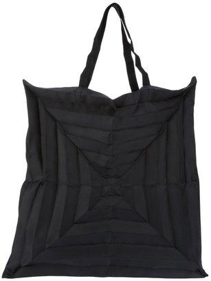Issey Miyake pleated shopper bag