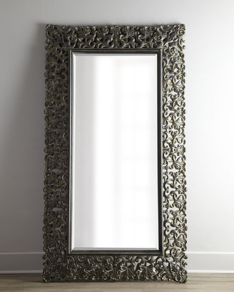 Horchow Burnished Charcoal Floor Mirror