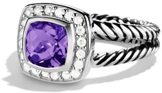 David Yurman Albion Petite Ring with Gemstone & Diamonds