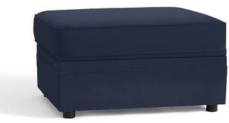 Pottery Barn Pearce Upholstered Storage Ottoman