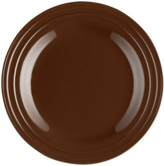 Rachael Ray Double Ridge Dinner Plate Set, 4-pc, Brown