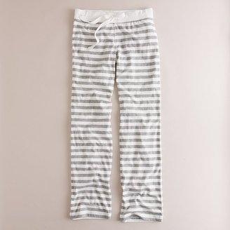 J.Crew Stripe dreamy cotton pant