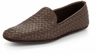 Bottega Veneta Woven Leather Slipper $810 thestylecure.com
