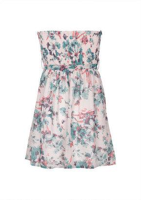 Delia's Pleated Vintage Floral Dress