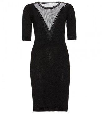 Carven Angora-blend sweater dress