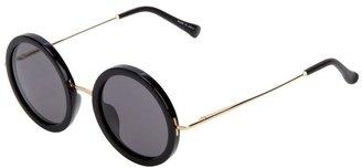 Linda Farrow The Row For Gallery round frame sunglasses