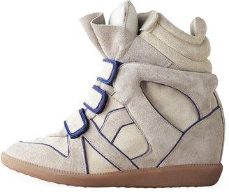 Isabel Marant Wila High-Top Sneaker