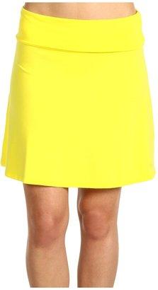 Splendid Modal Short Mini Skirt (Daffodil) - Apparel