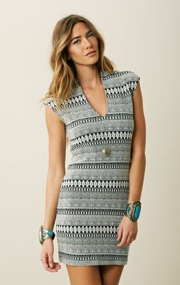 Rory Beca SPIVEY LOW V FITTED DRESS