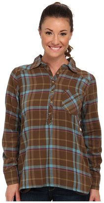 Life is good L/S Plaid Popover $60 thestylecure.com