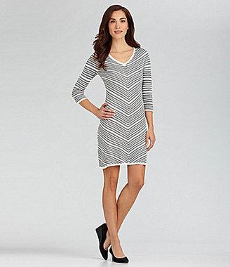 Nurture Stripe Sweater Dress
