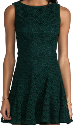 Anna Sui Re-Embroidered Lace Dress