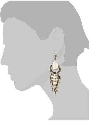Juicy Couture Hive & Honey Aztec Drop Earring