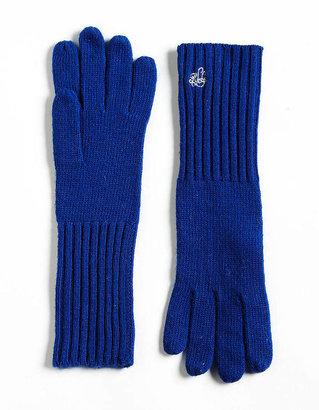 Lauren Ralph Lauren Long Ribbed Cuff Knit Gloves